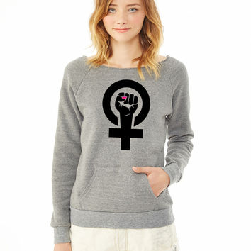 feminist ladies sweatshirt