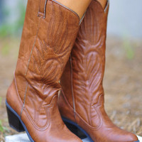 Thatta Cowgirl Boots: Cognac | Hope's