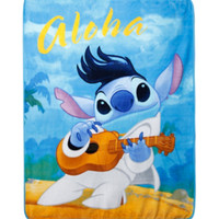 Disney Lilo & Stitch Elvis Stitch Throw