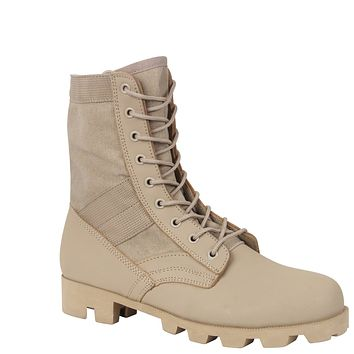 Rothco Classic Military Jungle Boots - Desert Tan