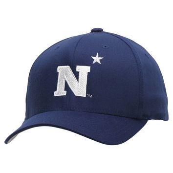 Navy Midshipmen Fundamental Flex Hat - Navy Blue