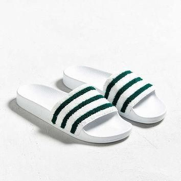 adidas Adilette Terrycloth Slide Sandal | Urban Outfitters
