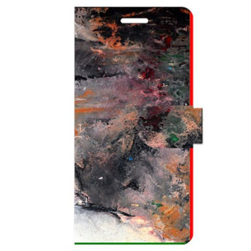 Natural Abstract Landscape No. 2 Apple iPhone 6 Plus Leather Folio Case
