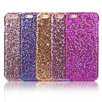 Women Case For Apple iPhone 6 4.7'' Luxury Sexy Diamond Secret Glitter Bling Powder Case For iPhone 6s Plus 5.5'' Sparkle Cover