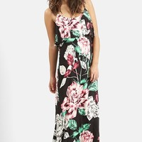 Women's KENDALL + KYLIE at Topshop Overlay Maxi Dress,