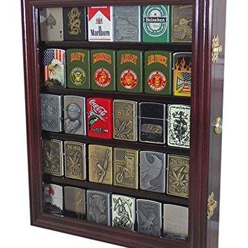 Lockable Cigarette/Sport Lighter Display Case Wall Cabinet Shadow Box
