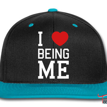 i love being me Snapback