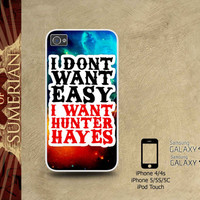 Hunter Hayes Sticker Nebula - iPhone cases 4/4S Case iPhone 5/5S/5C Case Samsung Galaxy S3/S4 Case