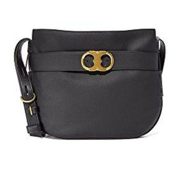 Tory Burch Gemini Belted Hobo in Black