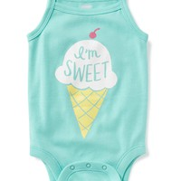 Graphic Tank Bodysuit for Baby | Old Navy