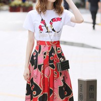 2019 Newest Gucci Women's Ready To Wear T-shirt And Skirts Style #23 - Best Online Sale