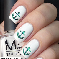 Sea anchor nail decals nail decal nail art nail sticker