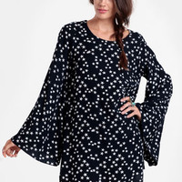 Woody Star Print Dress By Lenni