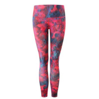 Multicolor Patterned Yoga Leggings