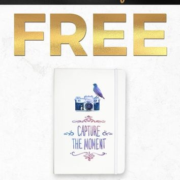 Black Friday 2018 Free NOTEBOOK039 Capture The Moment Notebook Gift With Purchase