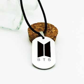KPOP BTS Love Yourself Tear New Album Bangtan Boys Chokers Pendant Necklace Korean Jewelry Accessories Men Women Boy Girl