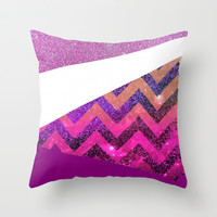 *** Galaxy 54  *** Throw Pillow by Monika Strigel for your cute teenbedding !!!