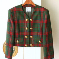 Authentic Moschino Cheap anc Chic 100% Wool Vintage Jacket