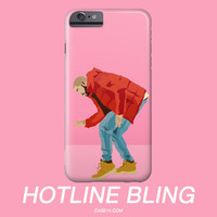 Drake Hotline Bling Pink Illustration IPhone / Galaxy Phone Case