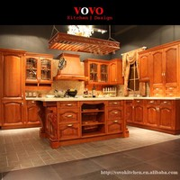 Bespoke kitchen furniture solid wood style