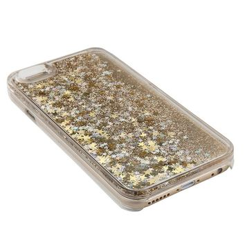 Liquid Glitter Quicksand Cell Phone Case for iPhone 5, 6, 7, and Plus