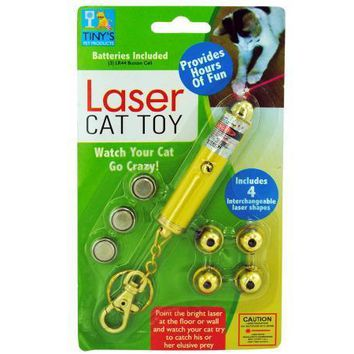 Laser Light Key Chain Toy For Cats Set of 20 Pack