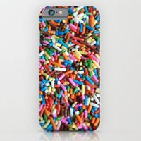 IN STOCK iPhone 6 Case, iPhone 6 Plus, Custom Phone Cover, Gifts, for Her, Tech Lover, Ice Cream Sprinkles, Food Phone Case