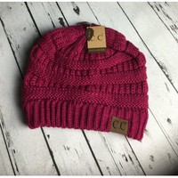 The Perfect Beanie! - Raspberry
