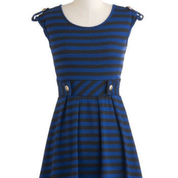 Good Afternoon Dress in Royal Blue | Mod Retro Vintage Dresses | ModCloth.com