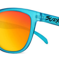 Surreal Sunglasses - Frosted Teal