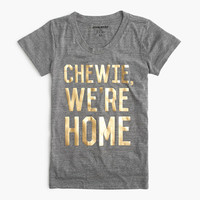 "Star Wars For J.Crew Women's ""chewie, We're Home"" T-Shirt"