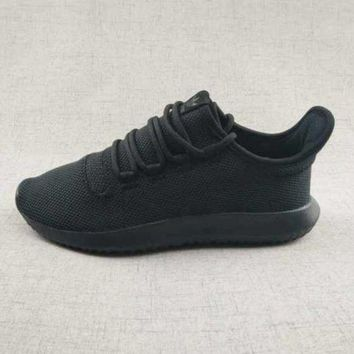 DCCKIJG Adidas Originals Tubular Shadow Leisure Running Sports Shoes Black