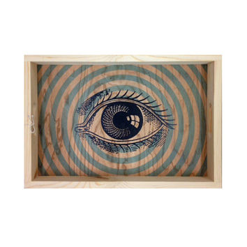 Pop Art Eye Serving Tray