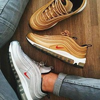 NIKE AIR MAX 97 New Fashion  Sneakers Running Women Men Sport Shoes