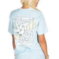 Lauren James Short Sleeve Tee- Welcome to the South