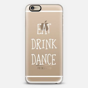 Eat drink dance - wedding iPhone 6 case by Yasmina Baggili | Casetify