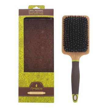 Macadamia - BRUSH boar bristle paddle 1 pz