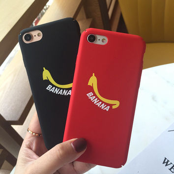 Original Banana Case for iPhone 7 7Plus & iPhone se 5s 6 6 Plus High Quality Cover +Gift Box