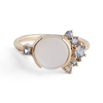 MOCIUN Moonstone & Sapphire Ring (Nordstrom Exclusive) | Nordstrom