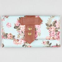 Floral Print Canvas Wallet 210737523 | Wallets