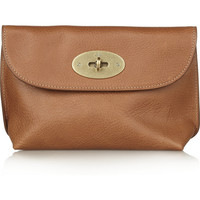 Mulberry | Textured-leather pouch | NET-A-PORTER.COM