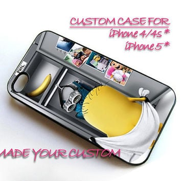 Despicable Me Minion Nude, iPhone 4 Case, iPhone 4s Case, iPhone 5 Case, Samsung Galaxy S3 i9300, Samsung Galaxy S4 i9500