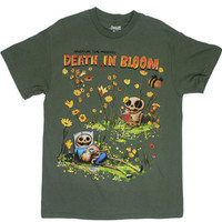 Death In Bloom - Adventure Time T-shirt - MyTeeSpot - Your T-shirt Store