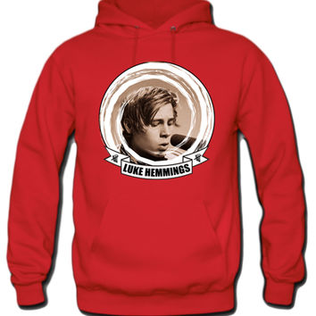 Luke Hemmings 5 Seconds Of Summer Album Cover Hoodie