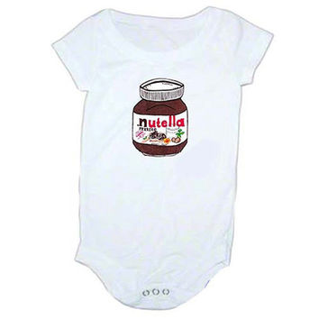Nutella Inspired baby Onesuit