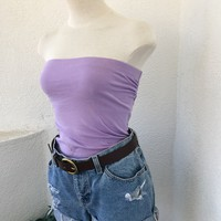 ISLA TUBE TOP- LAVENDER