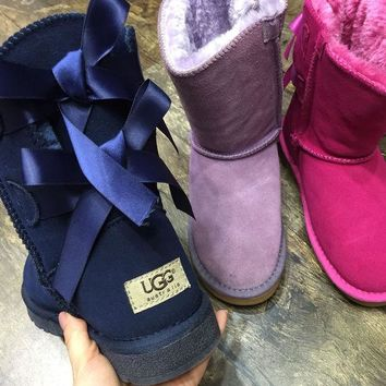 """UGG"" Women fashion wool snow boots wool shoes G"