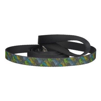 Abstract Swirls Dog Leash