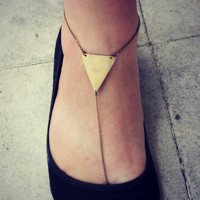 triangle anklet