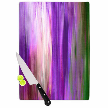 "Ebi Emporium ""Irradiated Multi 2"" Purple Lavender Cutting Board"